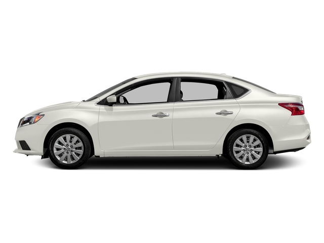 Fresh Powder 2016 Nissan Sentra Pictures Sentra Sedan 4D SV I4 photos side view
