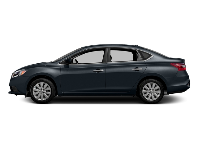 Graphite Blue Metallic 2016 Nissan Sentra Pictures Sentra Sedan 4D SV I4 photos side view