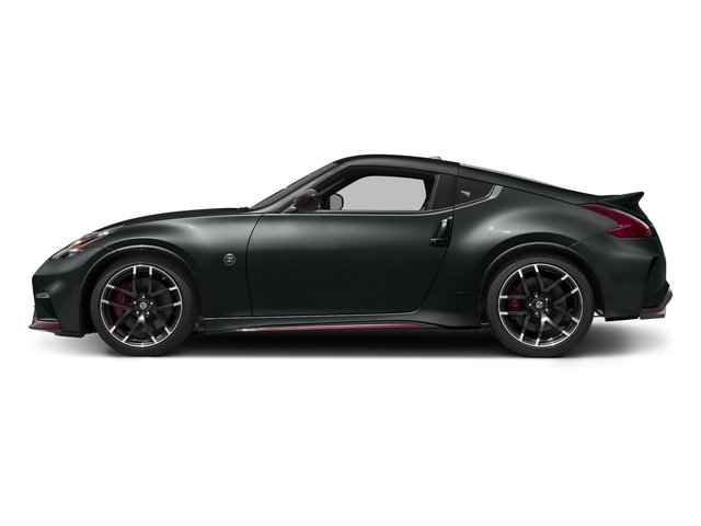 Magnetic Black 2016 Nissan 370Z Pictures 370Z Coupe 2D NISMO V6 photos side view