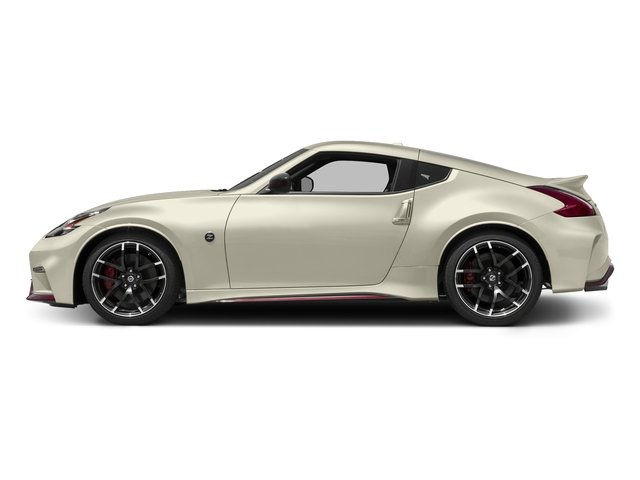 Pearl White 2016 Nissan 370Z Pictures 370Z Coupe 2D NISMO V6 photos side view