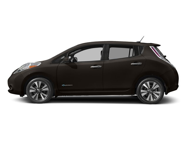 Forged Bronze 2016 Nissan LEAF Pictures LEAF Hatchback 5D SV Electric photos side view