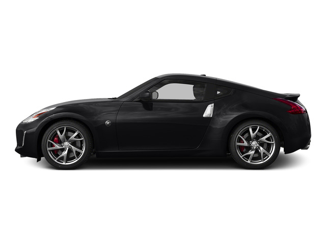 Magnetic Black 2016 Nissan 370Z Pictures 370Z Coupe 2D V6 photos side view