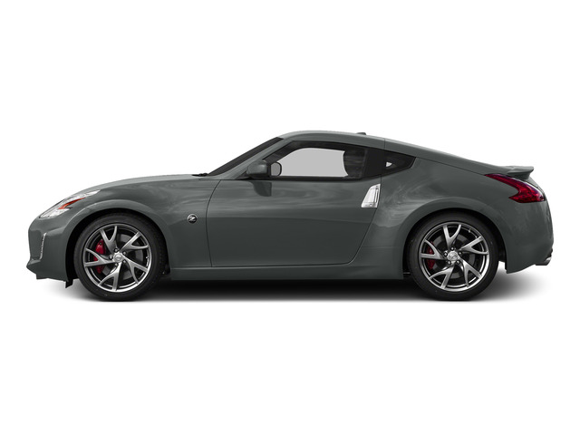 Gun Metallic 2016 Nissan 370Z Pictures 370Z Coupe 2D V6 photos side view