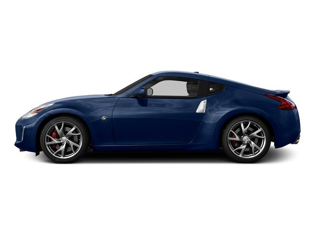 Deep Blue Pearl 2016 Nissan 370Z Pictures 370Z Coupe 2D V6 photos side view