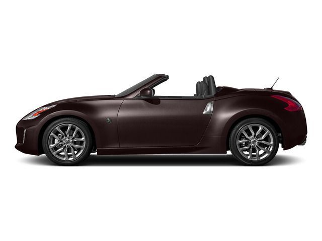 Black Cherry 2016 Nissan 370Z Pictures 370Z Roadster 2D Touring Sport V6 photos side view