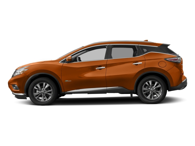 Pacific Sunset Metallic 2016 Nissan Murano Pictures Murano Utility 4D SL 2WD I4 Hybrid photos side view