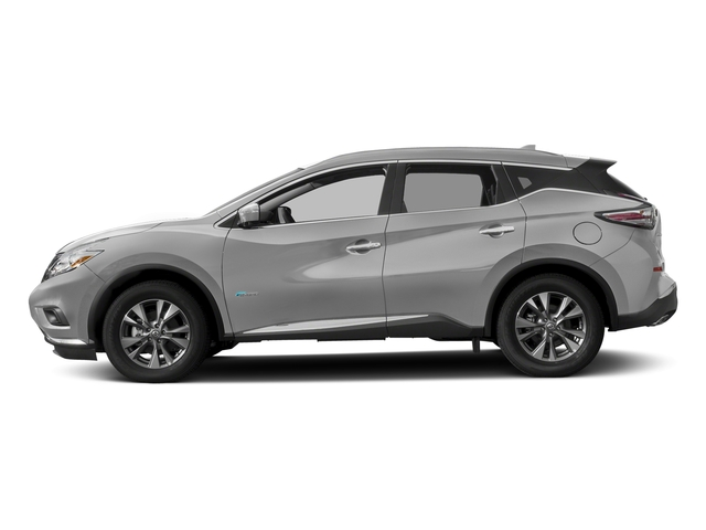 Brilliant Silver Metallic 2016 Nissan Murano Pictures Murano Utility 4D SL 2WD I4 Hybrid photos side view