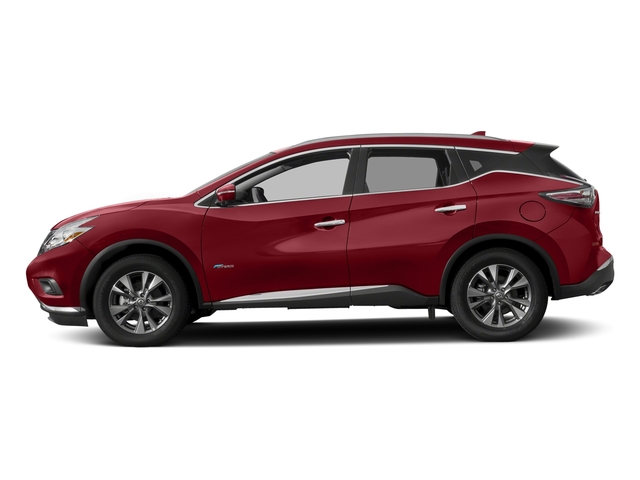 Cayenne Red Metallic 2016 Nissan Murano Pictures Murano Utility 4D SL 2WD I4 Hybrid photos side view
