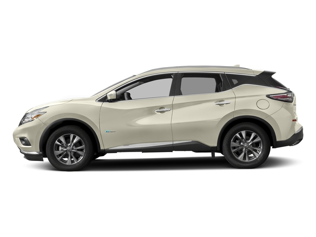 Pearl White 2016 Nissan Murano Pictures Murano Utility 4D SL 2WD I4 Hybrid photos side view