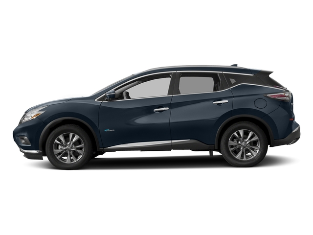 Arctic Blue Metallic 2016 Nissan Murano Pictures Murano Utility 4D SL 2WD I4 Hybrid photos side view