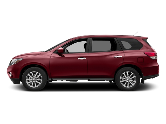 Cayenne Red Metallic 2016 Nissan Pathfinder Pictures Pathfinder Utility 4D SV 2WD V6 photos side view