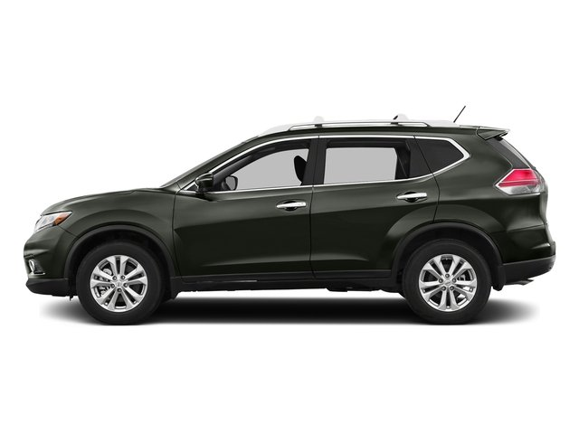 Midnight Jade 2016 Nissan Rogue Pictures Rogue Utility 4D SV AWD I4 photos side view