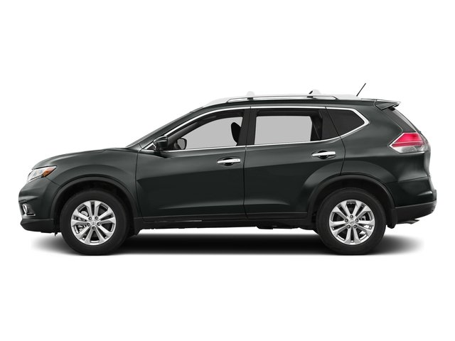 Gun Metallic 2016 Nissan Rogue Pictures Rogue Utility 4D SV AWD I4 photos side view