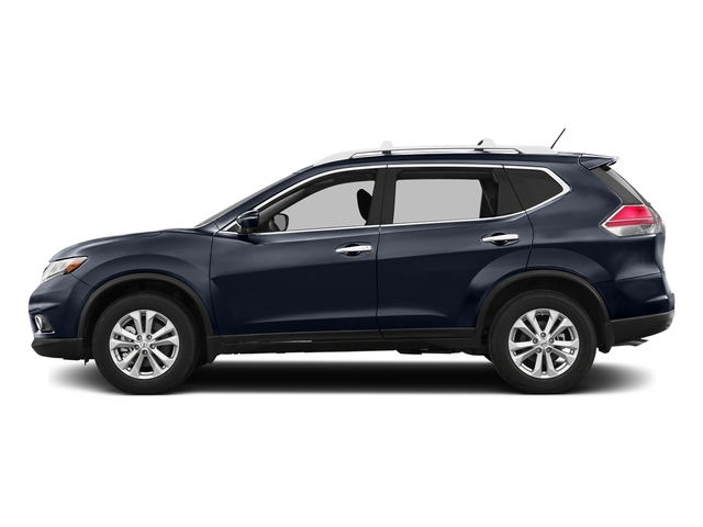 Arctic Blue Metallic 2016 Nissan Rogue Pictures Rogue Utility 4D SV AWD I4 photos side view