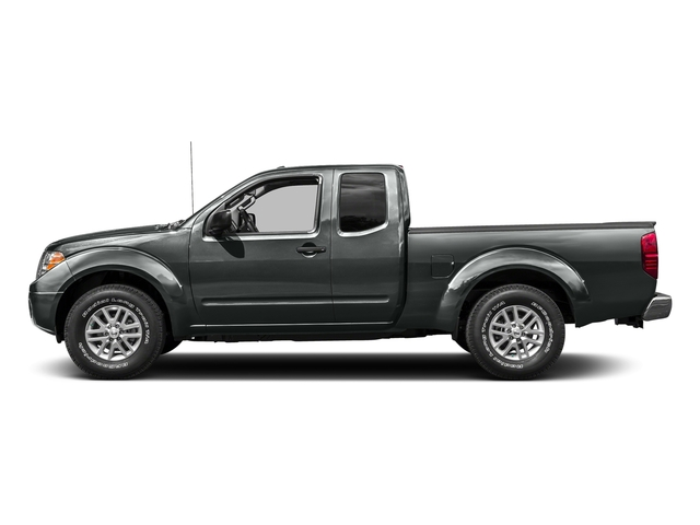 Gun Metallic 2016 Nissan Frontier Pictures Frontier King Cab SV 2WD photos side view
