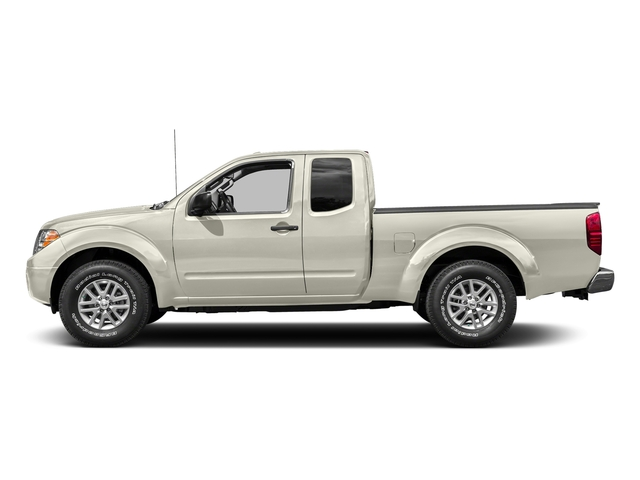 Glacier White 2016 Nissan Frontier Pictures Frontier King Cab SV 2WD photos side view