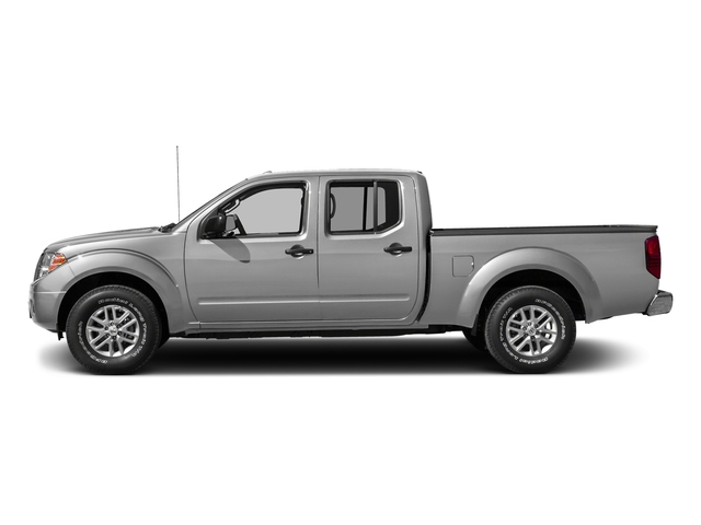 Brilliant Silver 2016 Nissan Frontier Pictures Frontier Crew Cab SV 4WD photos side view