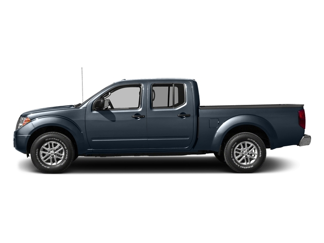 Arctic Blue Metallic 2016 Nissan Frontier Pictures Frontier Crew Cab SV 4WD photos side view