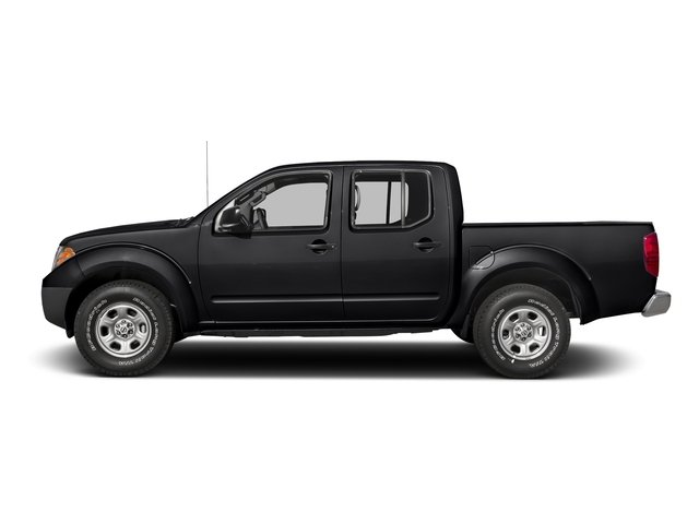 Magnetic Black 2016 Nissan Frontier Pictures Frontier Crew Cab S 2WD photos side view
