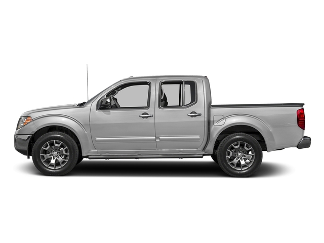 Brilliant Silver 2016 Nissan Frontier Pictures Frontier Crew Cab SL 2WD photos side view