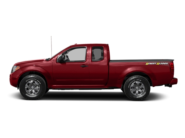 Lava Red 2016 Nissan Frontier Pictures Frontier King Cab Desert Runner 2WD photos side view
