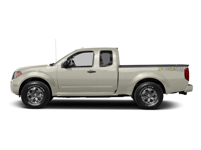 Glacier White 2016 Nissan Frontier Pictures Frontier King Cab Desert Runner 2WD photos side view
