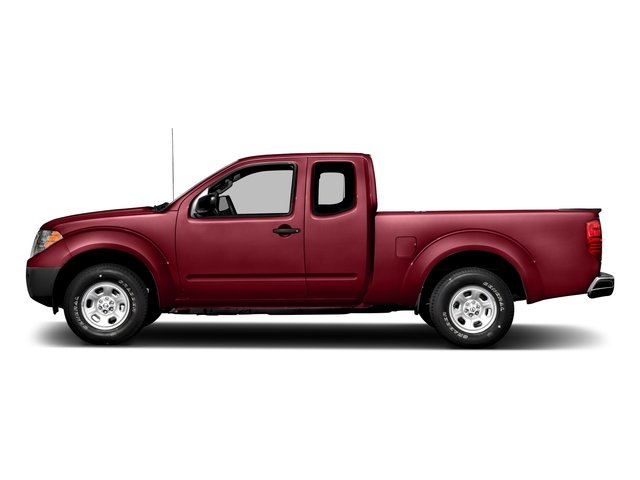 Cayenne Red 2016 Nissan Frontier Pictures Frontier King Cab S 2WD photos side view