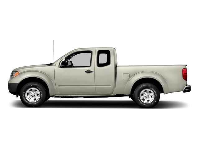Glacier White 2016 Nissan Frontier Pictures Frontier King Cab S 2WD photos side view