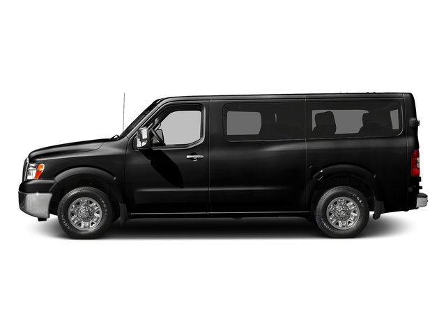 Super Black 2016 Nissan NVP Pictures NVP Passenger Van S photos side view