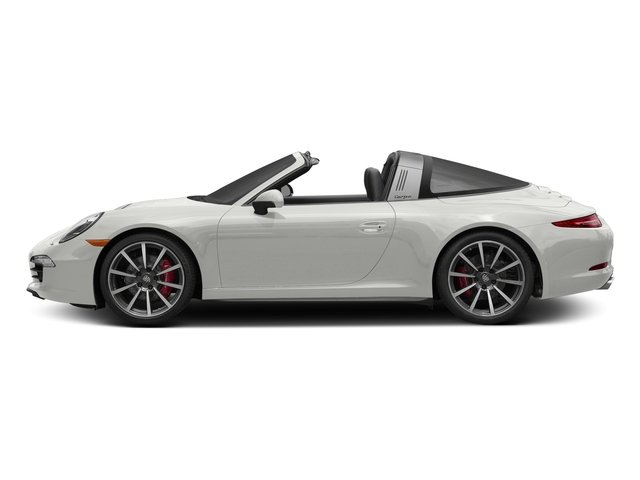 White 2016 Porsche 911 Pictures 911 Coupe 2D 4 GTS Targa AWD H6 photos side view