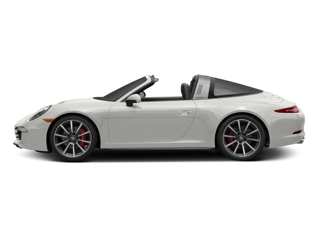 White 2016 Porsche 911 Pictures 911 Coupe 2D 4 Targa AWD photos side view