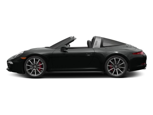 Jet Black Metallic 2016 Porsche 911 Pictures 911 Coupe 2D 4 Targa AWD photos side view