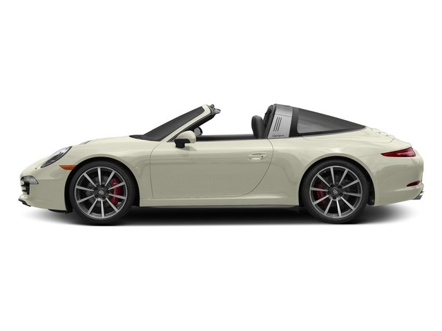 Carrera White Metallic 2016 Porsche 911 Pictures 911 Coupe 2D 4 Targa AWD photos side view