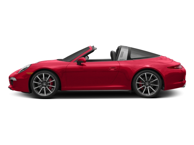 Guards Red 2016 Porsche 911 Pictures 911 Coupe 2D 4 Targa AWD photos side view