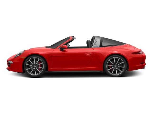 Lava Orange 2016 Porsche 911 Pictures 911 Coupe 2D 4S Targa AWD photos side view