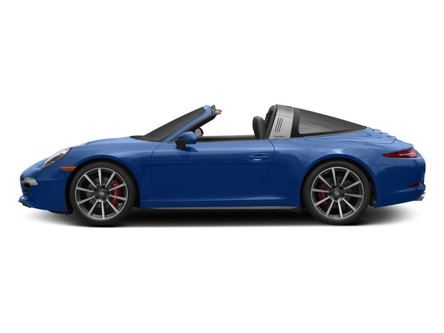 Sapphire Blue Metallic 2016 Porsche 911 Pictures 911 Coupe 2D 4 Targa AWD photos side view