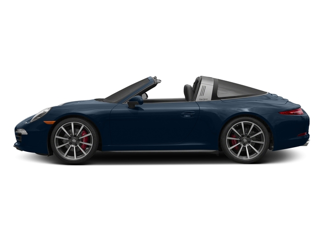 Dark Blue Metallic 2016 Porsche 911 Pictures 911 Coupe 2D 4 Targa AWD photos side view