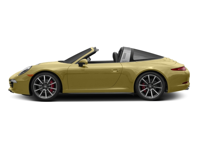 Lime Gold Metallic 2016 Porsche 911 Pictures 911 Coupe 2D 4S Targa AWD photos side view