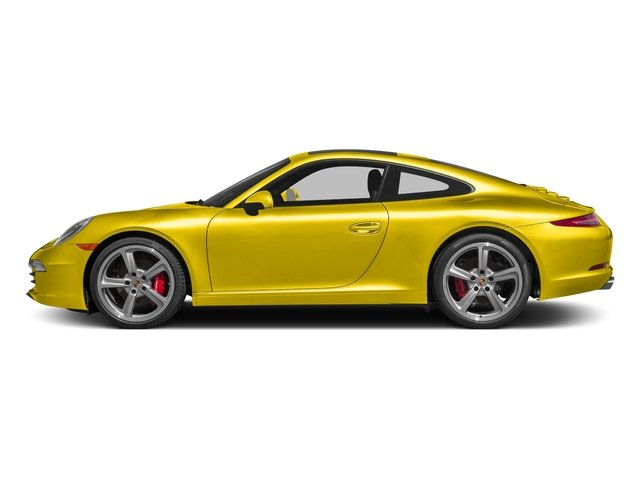 Racing Yellow 2016 Porsche 911 Pictures 911 Coupe 2D S H6 photos side view