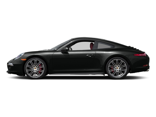 Jet Black Metallic 2016 Porsche 911 Pictures 911 Coupe 2D 4 Black Edition AWD H6 photos side view
