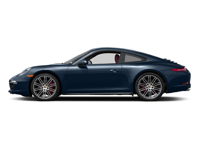Dark Blue Metallic 2016 Porsche 911 Pictures 911 Coupe 2D 4S AWD H6 photos side view