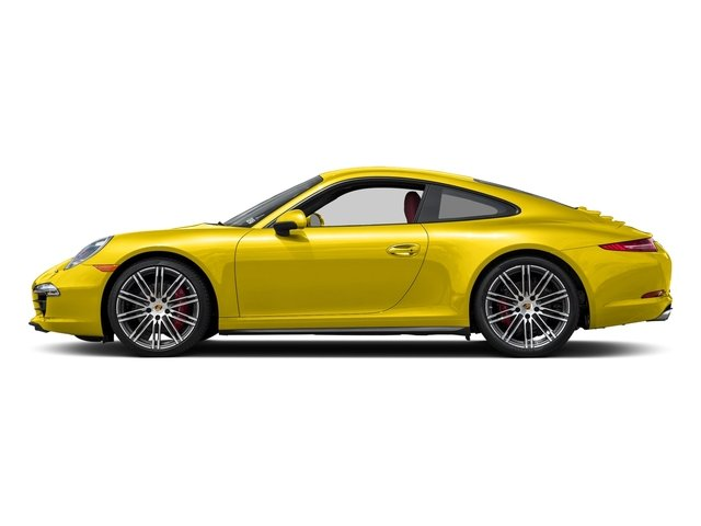 Racing Yellow 2016 Porsche 911 Pictures 911 Coupe 2D 4S AWD H6 photos side view