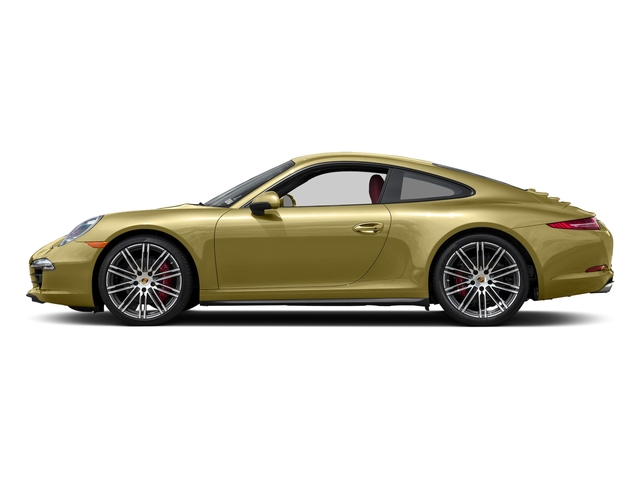 Lime Gold Metallic 2016 Porsche 911 Pictures 911 Coupe 2D 4S AWD H6 photos side view