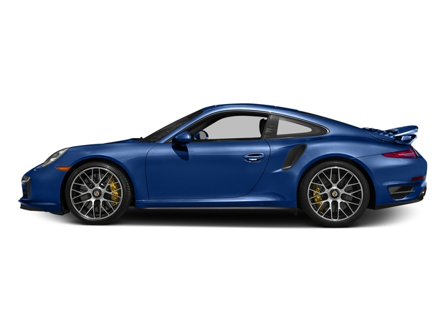 Sapphire Blue Metallic 2016 Porsche 911 Pictures 911 Coupe 2D Turbo AWD H6 photos side view