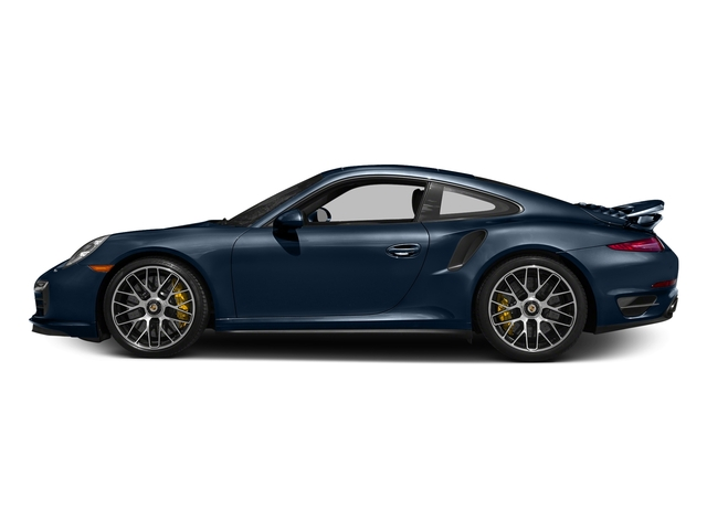 Dark Blue Metallic 2016 Porsche 911 Pictures 911 Coupe 2D Turbo AWD H6 photos side view