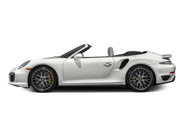 White 2016 Porsche 911 Pictures 911 Cabriolet 2D AWD H6 Turbo photos side view