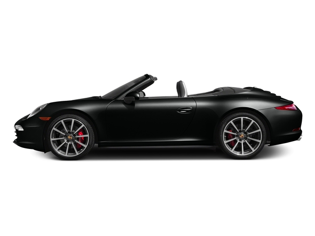 Jet Black Metallic 2016 Porsche 911 Pictures 911 Cabriolet 2D 4S AWD H6 photos side view