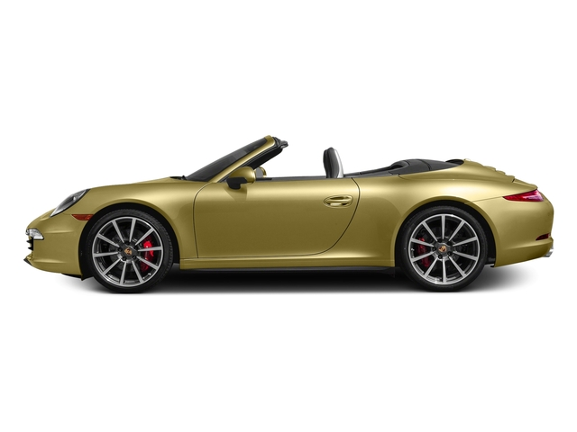 Lime Gold Metallic 2016 Porsche 911 Pictures 911 Cabriolet 2D 4S AWD H6 photos side view