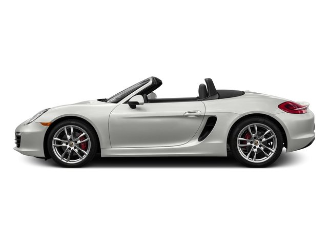 White 2016 Porsche Boxster Pictures Boxster Roadster 2D GTS H6 photos side view