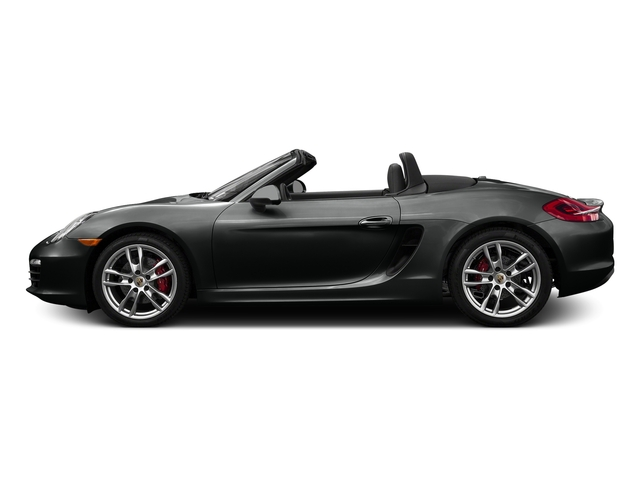 Jet Black Metallic 2016 Porsche Boxster Pictures Boxster Roadster 2D GTS H6 photos side view